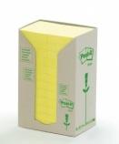 POST-IT® Green Line 38x50mm gul (24) FT510110388