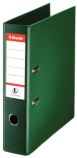 Brevordner ESSELTE No1 A4 75mm sk grønn (org.nr.811360)