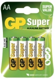 Batteri Peak Power/GP LR6/AA (4) 1,5V 151110